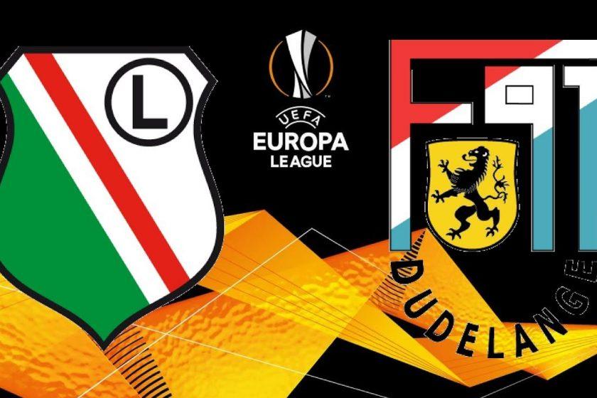 Europa League Dudelange vs Legia