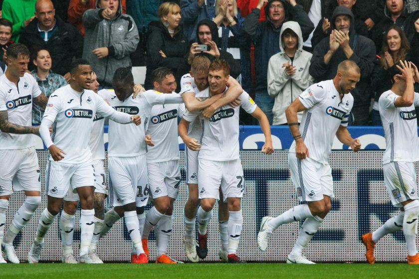 Championship Swansea vs Leeds
