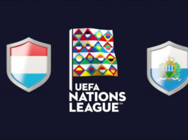 UEFA Nations League Luxembourg vs San Marino