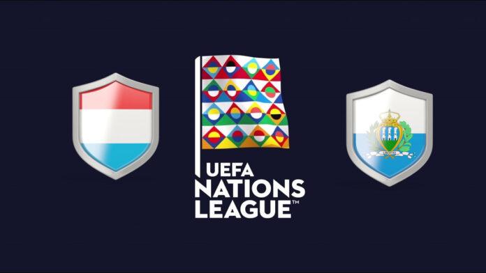 UEFA Nations League Luxembourg vs San Marino