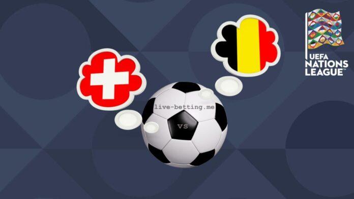 Switzerland vs Belgium UEFA Nations League