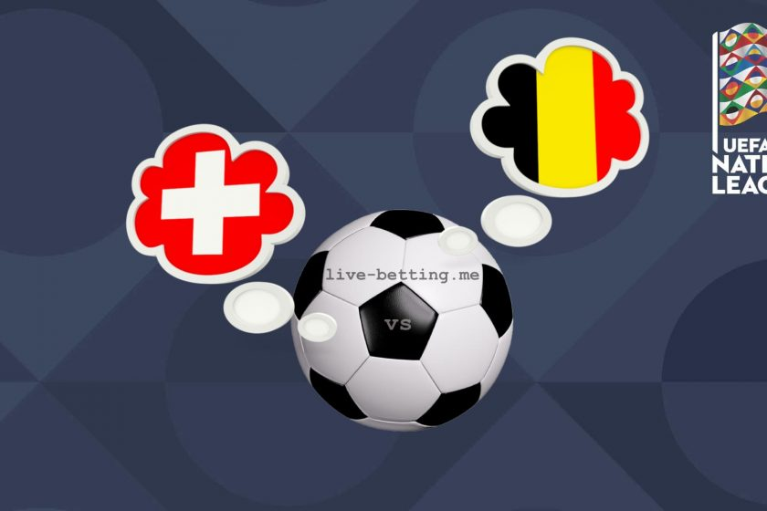 Switzerland vs Belgium UEFA Nations League