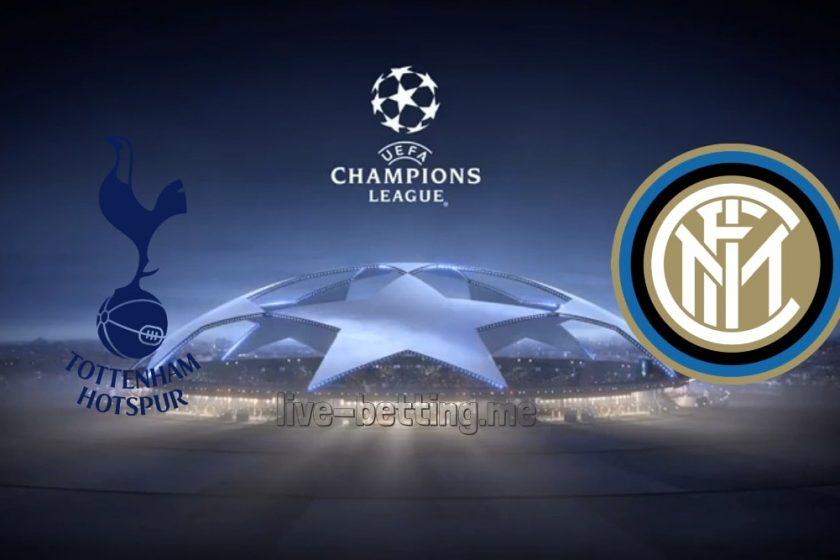 Tottenham vs Inter Champions League