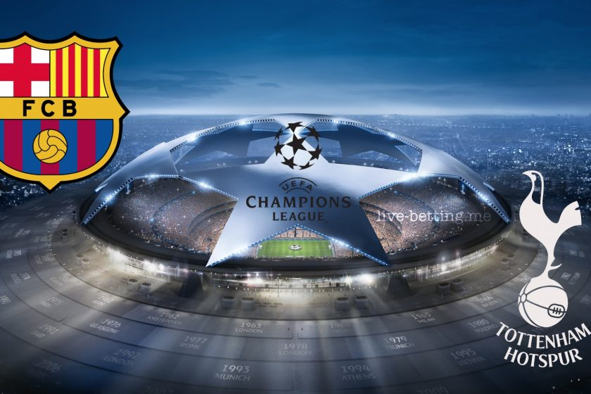Champions League Barcelona vs Tottenham