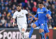 Real Madrid vs Getafe Free Betting Tips
